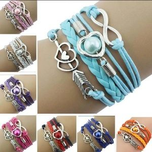 Jewelry - 2 for $10 Love & Friendship are forever bracelets
